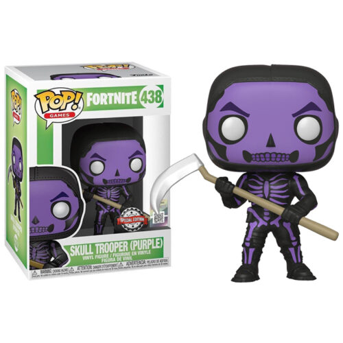 Skull Trooper Purple Funko Pop