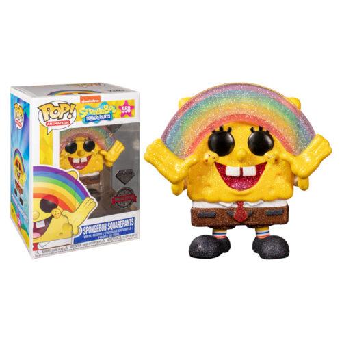 Spongebob Diamond Funko Pop