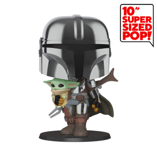 The Mandalorian and The Child 10inch Funko Pop