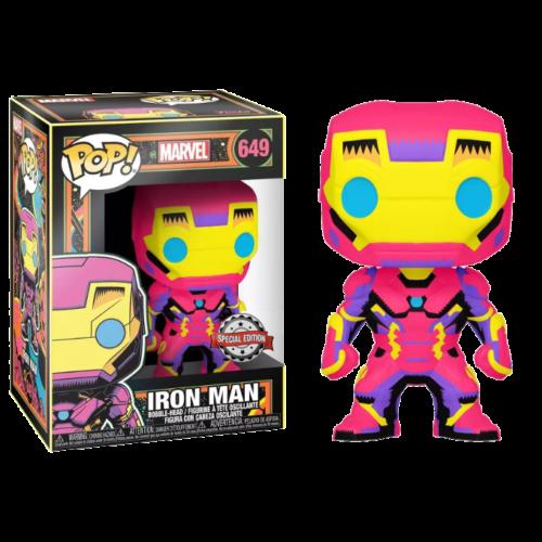 Iron Man Black Light Funko Pop