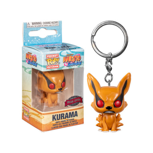 Kurama Keychain Pocket Pop Funko