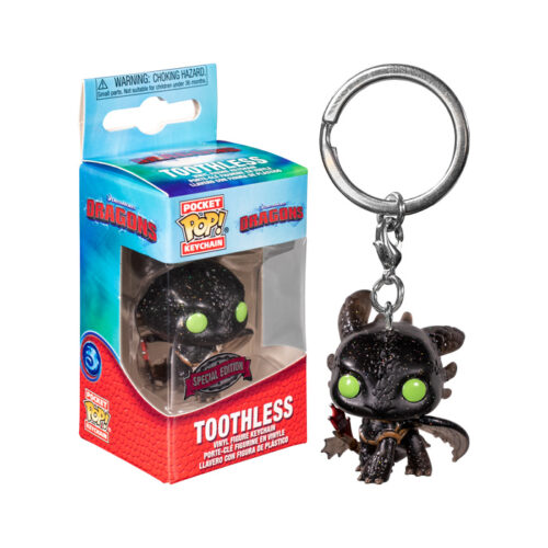 Toothless Pocket Pop Keychain