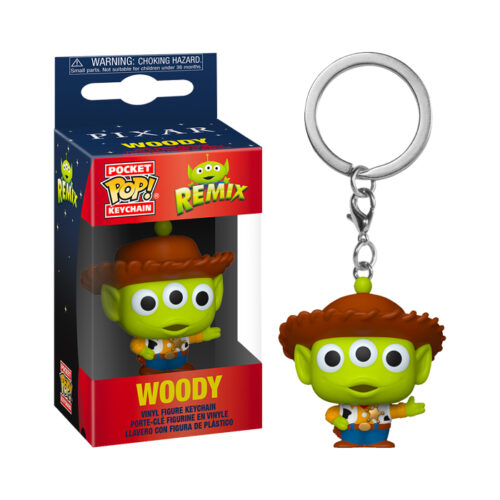 Woody Pocket Pop keychain Alien Remixix
