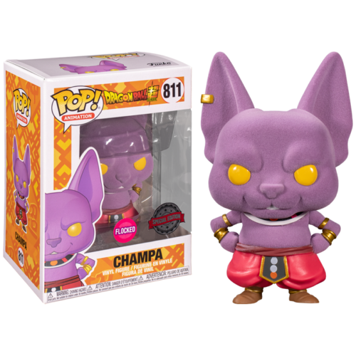 CHampa Flocked Funko Pop