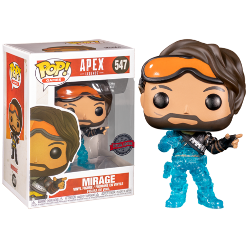 Mirage Translucent Funko Pop