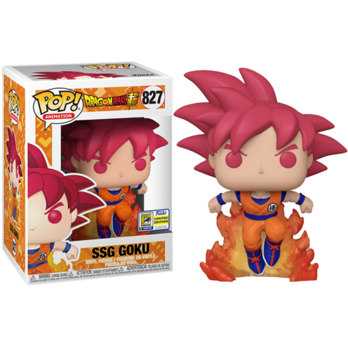 SSG Goku SDCC Funko Pop