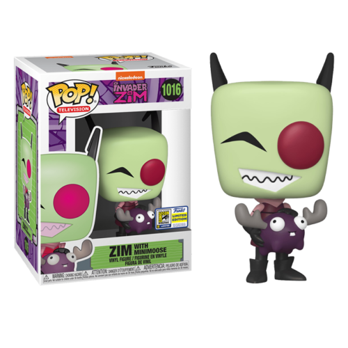 Zim with Minimoose SDCC Funko Pop