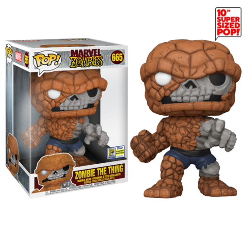 Zombie The Thing 10 inch SDCC Funko Pop