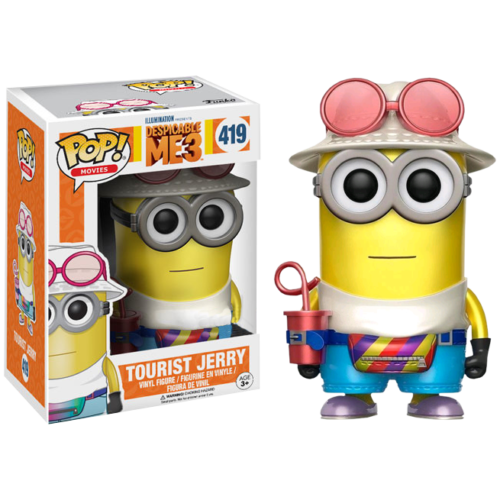 Tourist Jerry Metallic Funko Pop