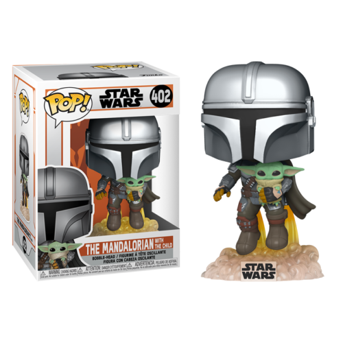 The Mandalorian with The Child Funko Pop